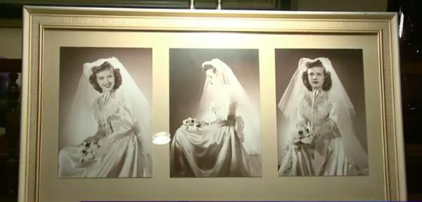 Hành trình kỳ lạ của chiếc váy cưới, từ nhà kho, bị bán đấu giá, đến tiệm đồ cũ để về lại với chủ-2