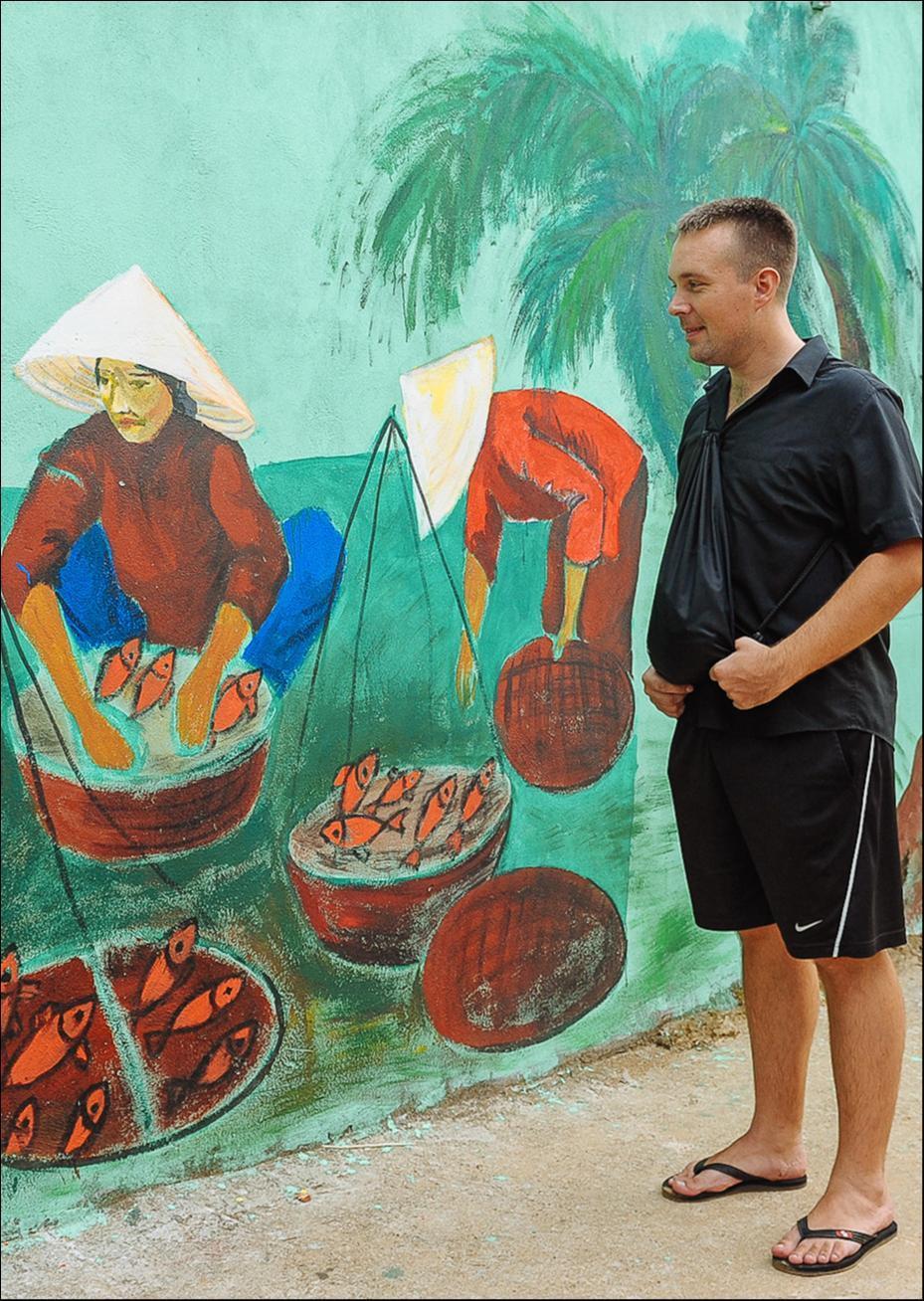 Ngôi làng trong tranh đầy ấn tượng trong Dấu ấn Việt Nam-6