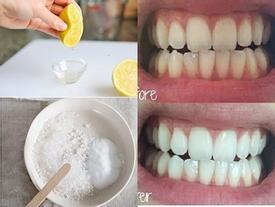Thực tế làm trắng răng chỉ với 3 phút tại nhà bằng chanh muối hiệu quả đến đâu?