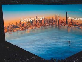 Sân khấu 3D Mapping ấn tượng trong sự kiện ra mắt Galaxy Note 8