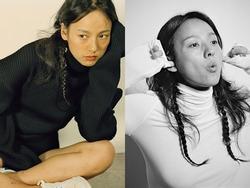 Lee Hyori tự tin khoe mặt mộc trên tạp chí