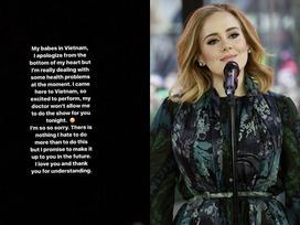 Cùng thông báo hủy show nhưng cách của Ariana và Adele là 'một trời một vực'