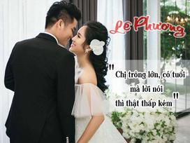 Để bảo vệ chồng trẻ, Lê Phương từ cô gái hiền khô trở thành người phụ nữ đanh thép