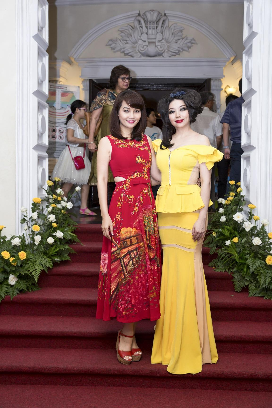NTK Quỳnh Paris – chủ nhân loạt thiết kế tuyệt đẹp trong vở diễn Con dơi-3
