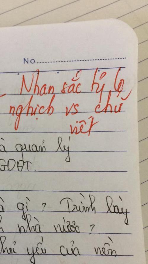 Thầy giáo trẻ đại học Vinh và loạt lời phê bá đạo: Nhan sắc tỷ lệ nghịch với chữ viết-9