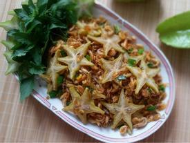 Tép rang khế - món ăn dân dã mà hao cơm