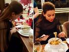 Những bữa cơm 'kiếm tiền tỷ, ăn đạm bạc' của sao Việt