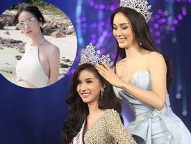 Cận cảnh nhan sắc đẹp hút hồn, thân hình nóng bỏng của tân 'Hoa hậu chuyển giới Thái Lan'
