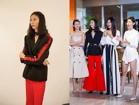 Cao Ngân 'vượt mặt' giám khảo soán ngôi mặc xấu ở tập 10 Next Top Model