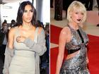Phản ứng khác nhau của Kim Kardashian và Kanye West trước ca khúc 'dằn mặt' của Taylor Swift