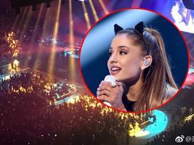 Không tái phát cơn sốt 42 độ ở Việt Nam, Ariana diễn cực sung với 18 ngàn fan Trung Quốc
