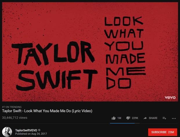 Spotify và YouTube vỡ đê vì single mới của Taylor Swift-1