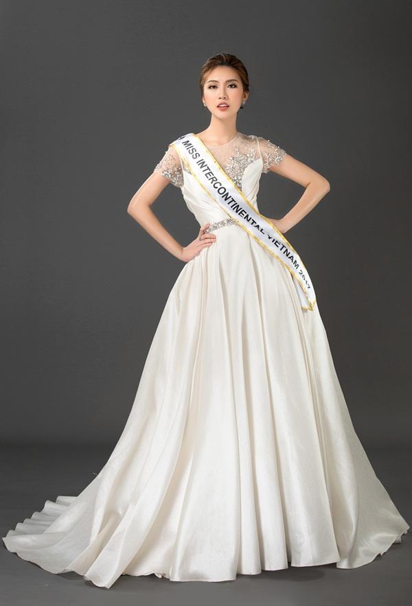 Vừa ẵm giải Á quân The Face, Tường Linh tiếp tục chinh chiến Hoa hậu Liên lục địa 2017-4