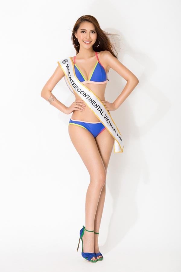 Vừa ẵm giải Á quân The Face, Tường Linh tiếp tục chinh chiến Hoa hậu Liên lục địa 2017-5
