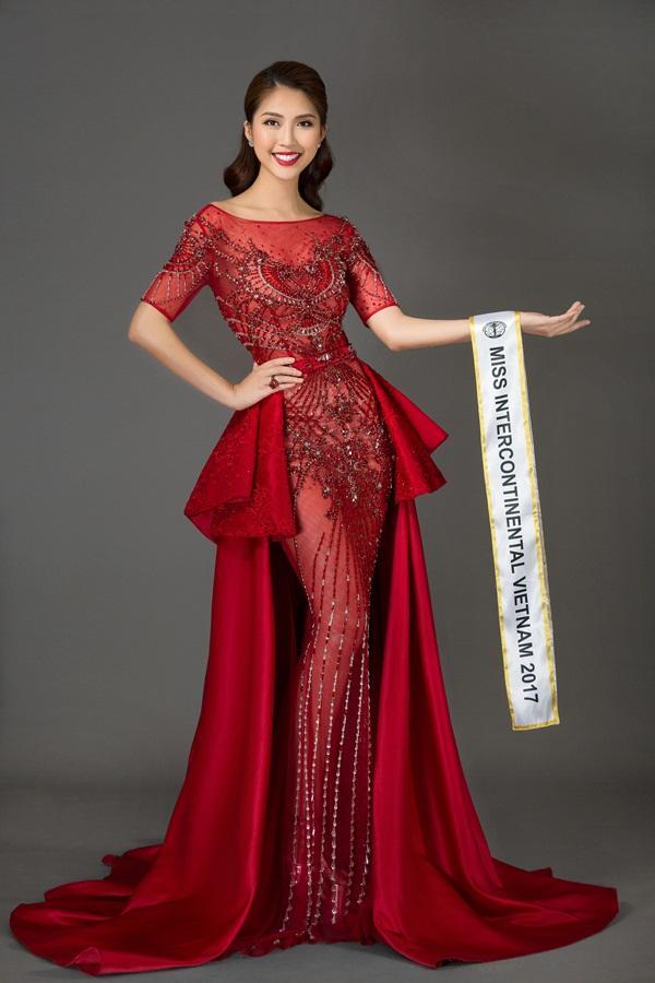 Vừa ẵm giải Á quân The Face, Tường Linh tiếp tục chinh chiến Hoa hậu Liên lục địa 2017-7