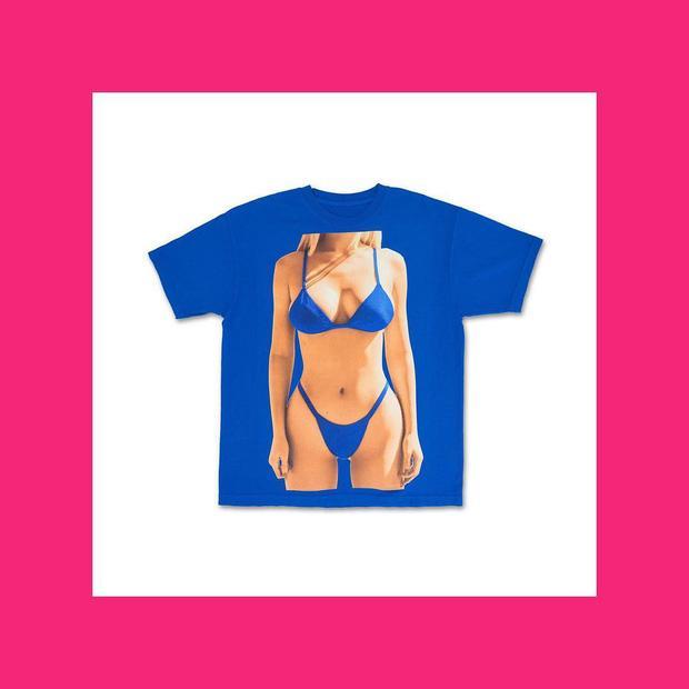 Tự biết dáng đẹp, Kylie Jenner in luôn áo phông hình body của mình để bán-3