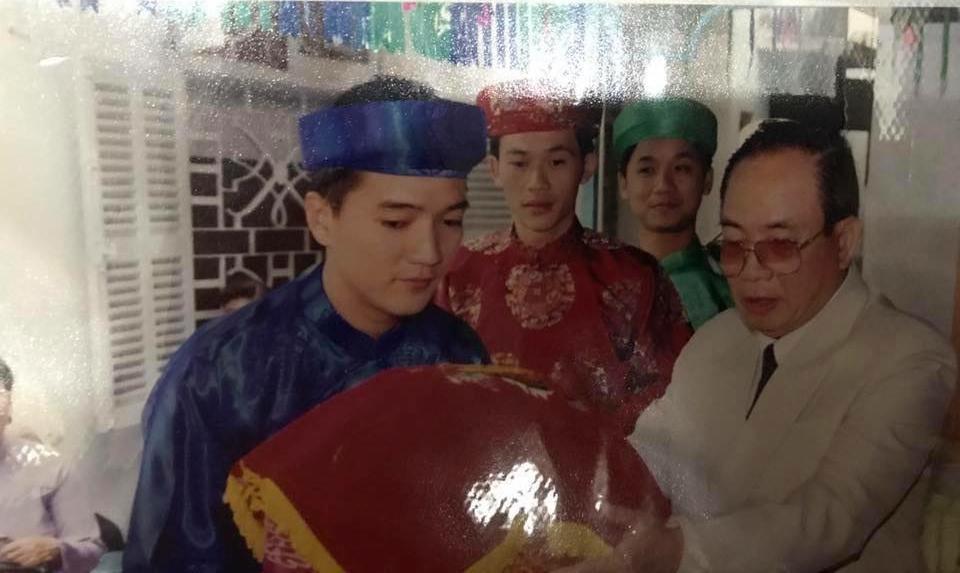 Vũ Hà hé lộ thời trai trẻ đi bê tráp đám cưới của Hoài Linh và Đàm Vĩnh Hưng-1