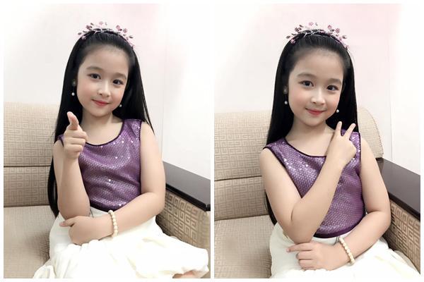 Vẻ đẹp thiên thần của bé gái mới nổi được cho là xinh hơn Hoa khôi nhí Cần Thơ-8