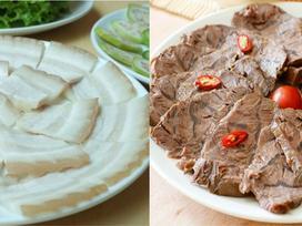 Cách luộc 5 loại thịt ngon nhiều người Việt thích nhất