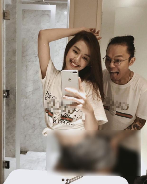 Khánh Linh The Face gây shock với bức ảnh bạn trai sờ vòng 3 trong nhà vệ sinh-1