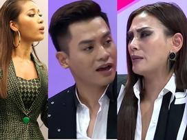 Những màn khẩu chiến 'bung nóc' của nghệ sĩ Việt trên sóng truyền hình quốc gia