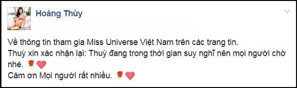 Ảnh chế Hoàng Thùy thi Hoa hậu Hoàn vũ Việt Nam mặc váy hoa dâm bụt và ứng xử bằng ca dao-1