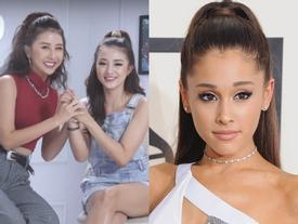 Clip: Học Salim và Quỳnh Anh Shyn make up 'biến hình' thành Ariana Grande