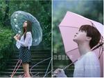 Tung ảnh nhá hàng cầm ô, G-Friend bị nghi đạo nhái BTS
