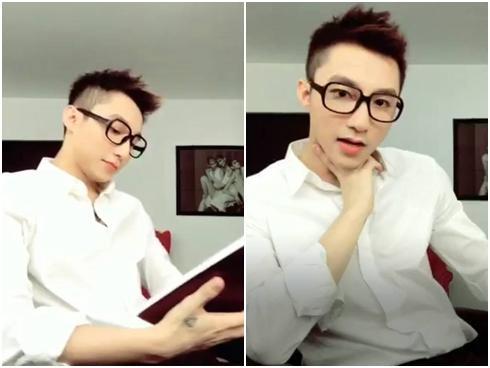 """""""Bắt chước"""" Taeyang của Sơn Tùng lại vô tình phù hợp với hình tượng """"soái ca sơ mi trắng"""" đến lạ!"""