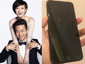 Đặng Siêu đập vỡ điện thoại khi thấy Tôn Lệ 'sờ mông' trai trẻ