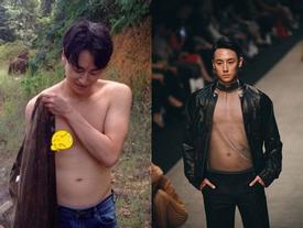 Rocker Nguyễn bất ngờ để lộ bụng mỡ, thân hình kém săn chắc