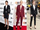 Người đẹp quốc tế 'vứt bỏ' váy áo, diện suit lên thảm đỏ