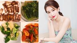 Hoa hậu Đặng Thu Thảo trổ tài vào bếp sau nhiều năm lơ là nữ công gia chánh