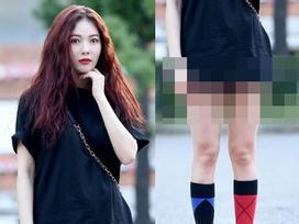 Sao Hàn 1/9: Biểu tượng sexy HyunA khiến cư dân mạng đỏ mặt vì chiếc quần phản chủ