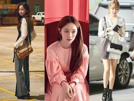 Street style tuần qua của 'tiên nữ cử tạ' Kim Bok Joo nữ tính nhất dàn mỹ nhân Hàn