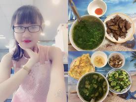 Nữ sinh gây sốt khi khoe bữa ăn ngon tự nấu chưa tới 25.000 đồng