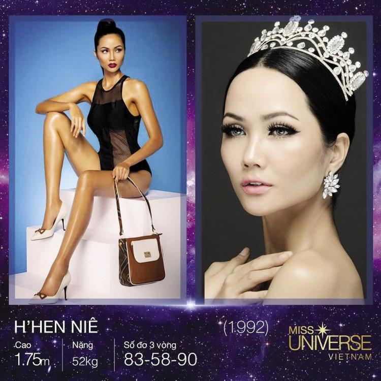 Hoa hậu Hoàn vũ Việt Nam 2017 bị bao vây bởi dàn ngôi sao Vietnams Next Top Model-9