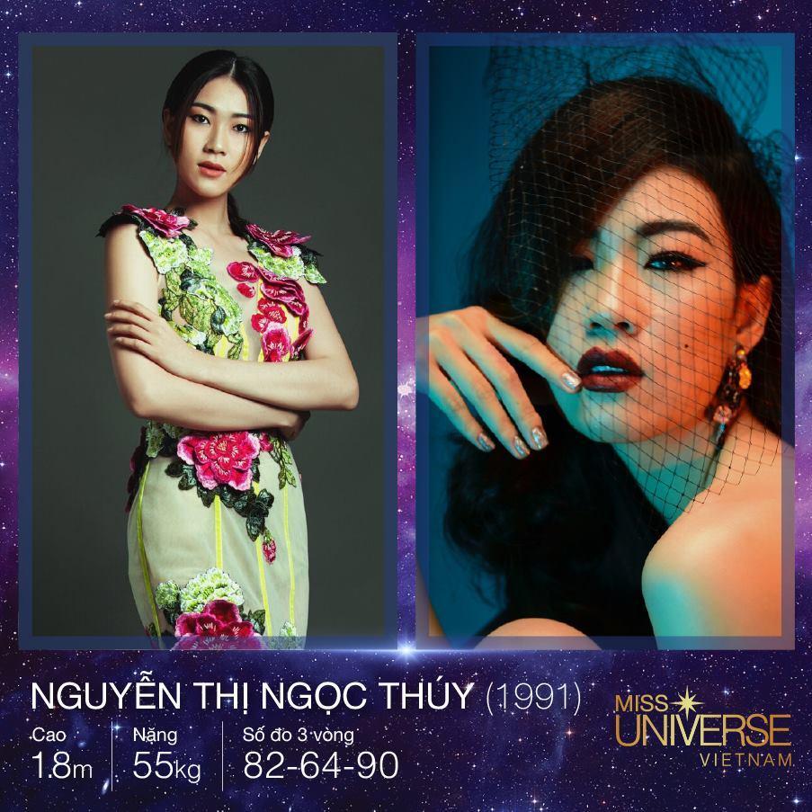 Hoa hậu Hoàn vũ Việt Nam 2017 bị bao vây bởi dàn ngôi sao Vietnams Next Top Model-10