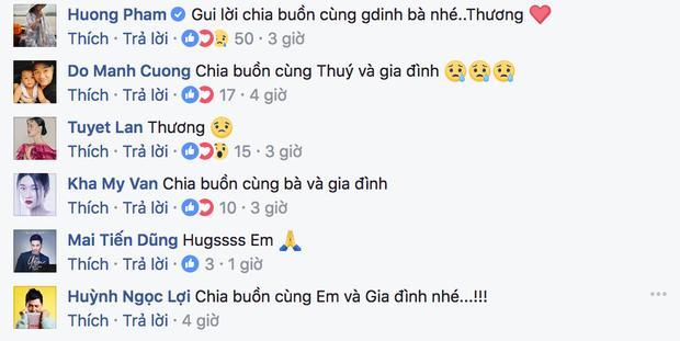 Phạm Hương, Tuyết Lan gửi lời chia buồn sâu sắc khi hay tin bà người mẫu Lê Thúy qua đời-2