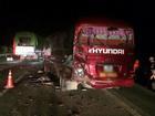Tai nạn liên hoàn giữa 3 xe khách trên cao tốc Nội Bài - Lào Cai, 10 hành khách bị thương