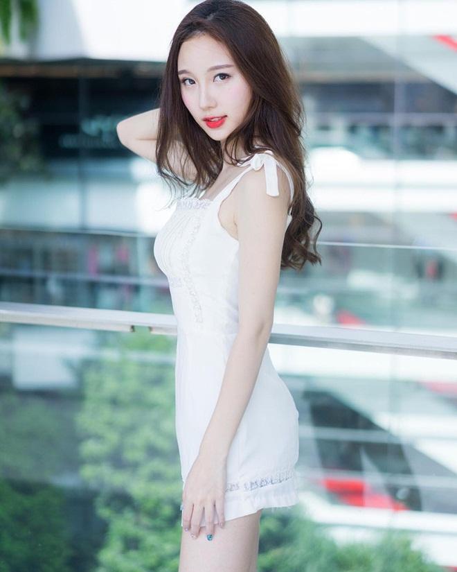 Vẻ đẹp được ví như bông tuyết của hot girl hoàn mỹ Thái Lan-11