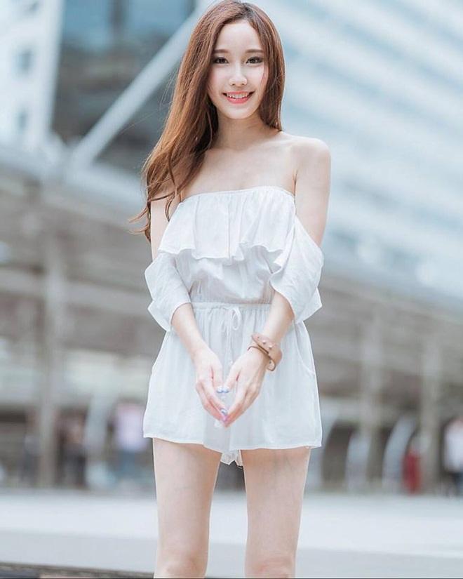 Vẻ đẹp được ví như bông tuyết của hot girl hoàn mỹ Thái Lan-12