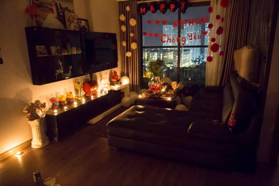 Hot girl dân tộc Thu Hương khiến ông xã khóc nấc khi tổ chức tiệc sinh nhật lãng mạn-2