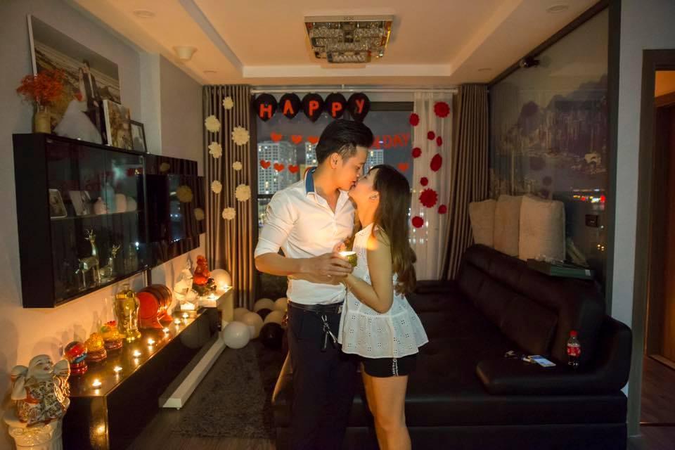 Hot girl dân tộc Thu Hương khiến ông xã khóc nấc khi tổ chức tiệc sinh nhật lãng mạn-4