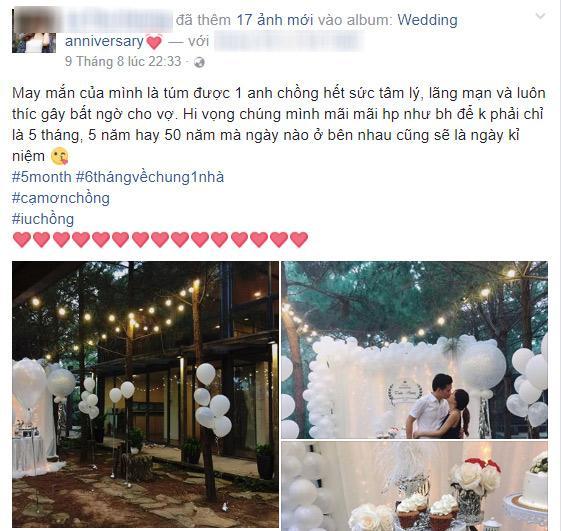 Hot girl dân tộc Thu Hương khiến ông xã khóc nấc khi tổ chức tiệc sinh nhật lãng mạn-5