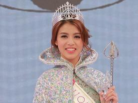 Tân Hoa hậu Hong Kong 2017 bị chê kém sắc