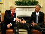 Hé lộ bức thư ông Obama gửi ông Donald Trump ngày nhậm chức