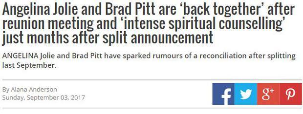 Sốc: Đây mới là sự thật về cuộc tái hợp thế kỷ của Angelina Jolie và Brad Pitt?-2