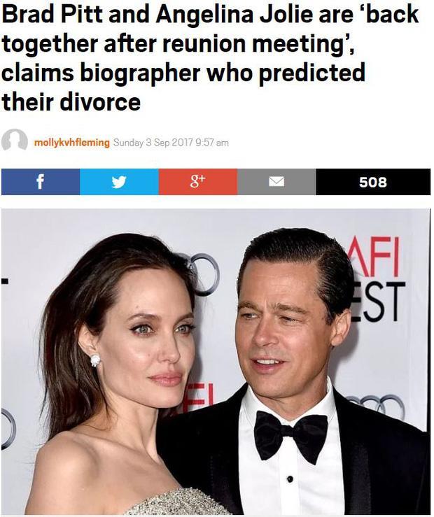 Sốc: Đây mới là sự thật về cuộc tái hợp thế kỷ của Angelina Jolie và Brad Pitt?-3