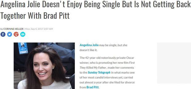 Sốc: Đây mới là sự thật về cuộc tái hợp thế kỷ của Angelina Jolie và Brad Pitt?-6
